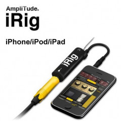 AmpliTude iRig Interface guitare pour iPhone-iPad-iPod IRIG - 1