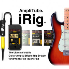AmpliTude iRig Interface guitare pour iPhone-iPad-iPod IRIG - 2
