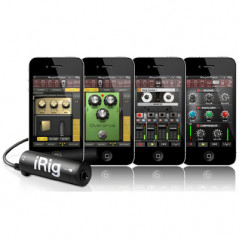 AmpliTude iRig Interface guitare pour iPhone-iPad-iPod IRIG - 4