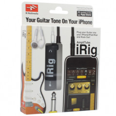 AmpliTude iRig Interface guitare pour iPhone-iPad-iPod IRIG - 5