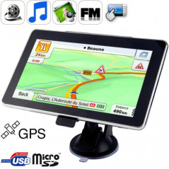 GPS auto 7 inch, 4GB with FM radio + speaker