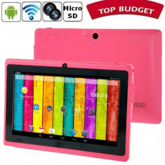Tablette-PDA rose Tactile 7 pouces Android 4 Wifi Tablette-PDA A23 - 1