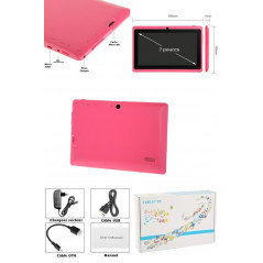 Tablette-PDA rose Tactile 7 pouces Android 4 Wifi Tablette-PDA A23 - 3