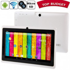 Tablette-PDA blanche Tactile 7 pouces Android 4 Wifi Tablette-PDA A23 - 1