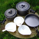 Set 9 pièces cuisson Cookware (camping) NO-NAME - 4