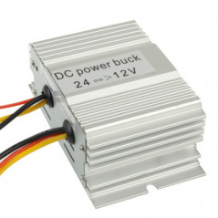 Convertisseur DC 24V vers 12V (10A) NO-NAME - 1