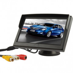 Video screen 5-inch color TFT LCD (black) NO-NAME - 1