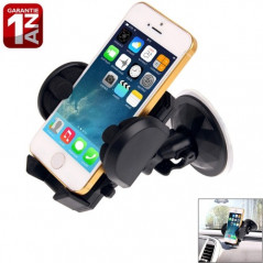 Support voiture iPhone 5/4, MP4, PDA, Galaxy S6...