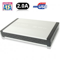 Case HDD external 3.5-Inch Sata-Ide-USB 2.0 NO-NAME - 1