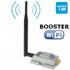 Booster de signal WIFI 2000mW 802.11b/g NO-NAME - 1
