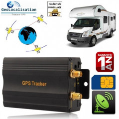 Traceur GPS, GSM, GPRS (véhicule) port Micro-SD