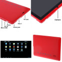 Tablette-PDA rouge, Tactile 7 pouces, Android 4.2.2, Wifi, 2 caméras Tablette-PDA A23 - 2