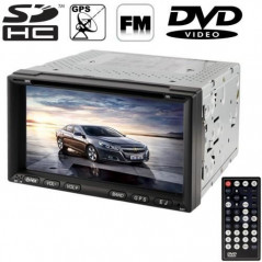 Autoradio GPS, DVD, Bluetooth, TV, USB, SD NO-NAME - 1