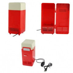 Mini-frigo USB pour canette (rouge) Fridge-USB - 2