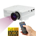 Mini-projecteur HD 1080P Led, Hdmi, Vga, Usb, Sd (blanc) MINI PROJECTOR - 1