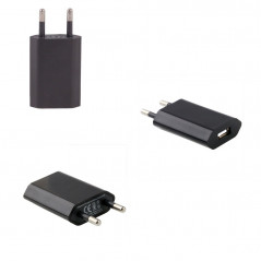 Chargeur noir USB 5V/1A secteur pour iPhone 6/6+/5/5C/5S/4/4S/iPod Charger for iPhone - 2