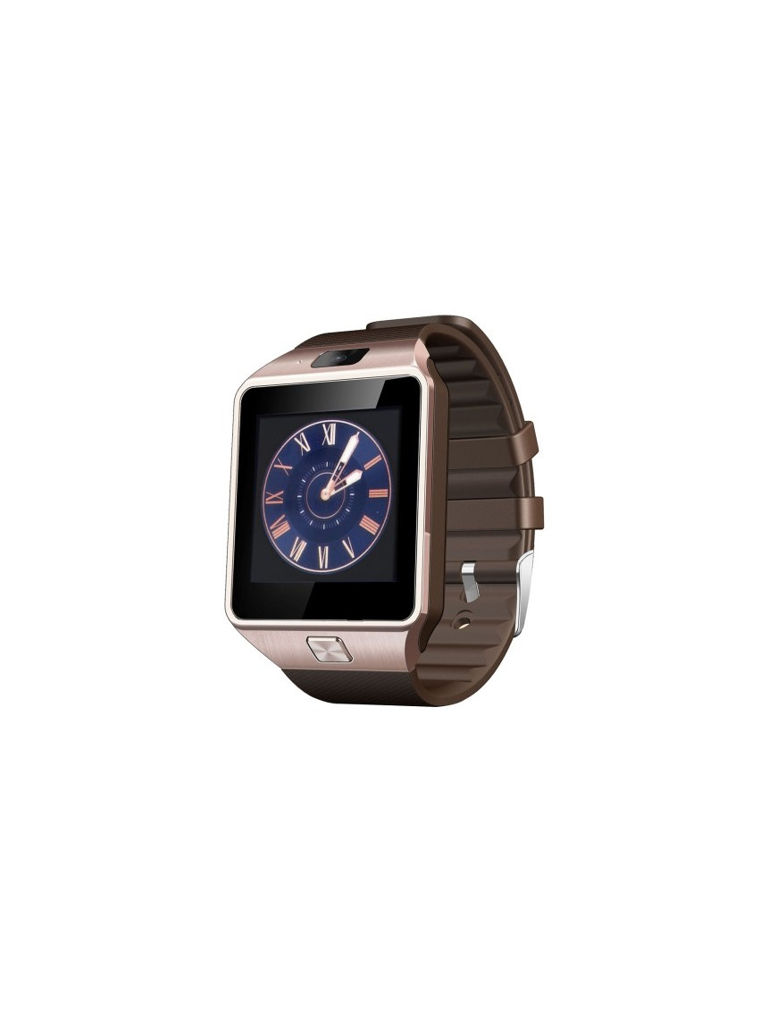 Smartwatch Heartrate GOLD connectée (fréquence cardiaque) Bluetooth compatible Android Smartwatch-D-Z09 - 1