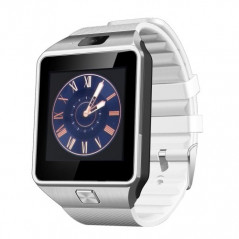 Smartwatch Heartrate blanc connectée (fréquence cardiaque) Bluetooth compatible Android