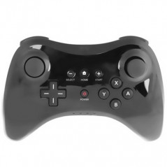 Manette Pro noire pour console Nintendo Wii U Controller for Wii - 1
