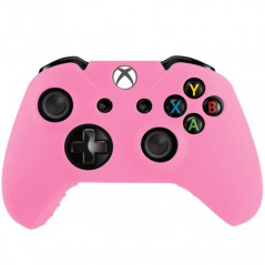 Étui rose en silicone pour manette de jeux Xbox One Silicone Case for Xbox One - 1