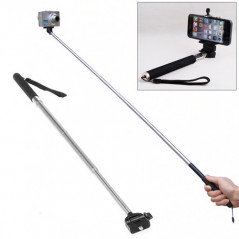 Monopod - Barre de selfie extensible pour Appareil photo, iPhone, Galaxy