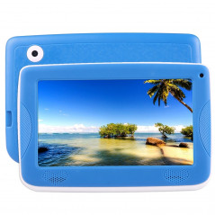 Tablette PC - Kids - Enfants - 4Go - Android 4.4 - Wifi - Bleu - Etui silicone