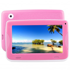 Tablette PC - Kids - Enfants - 4Go - Android 4.4 - Wifi - Rose - Etui silicone