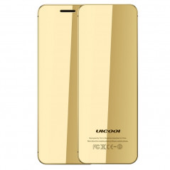 ULCOOL V36 Card Mobile Phone, 1.54 inch, MTK6261D, Support Touch Keys, Bluetooth, FM, Anti-lost, GSM, Dual SIM (Light Gold) (Gol