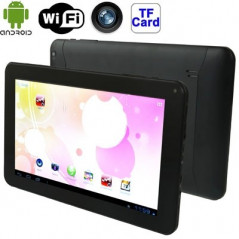 9.0 inch Tablet PC, 512MB+8GB, Android 4.4 Allwinner A33 up to 1.3GHz, WiFi, HDMI(Black)