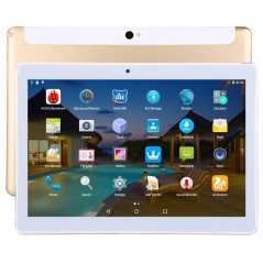 Phablette 4G, Android, 2Sim, 10.1 Pouces, 2GB+32GB, Gold/Or