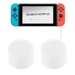 2 Pièces Housse de protection boutons pour Nintendo Switch, Blanc DS SWITCH ACCESSORIES - 1