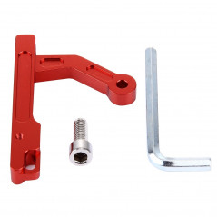 Metal Iron CNC Mobile Device Holder for DJI Phantom 3 or Inspire 1 Transmitter(Red)