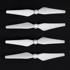 2 Pairs 9450 Props CW / CCW Propellers for DJI Phantom 4(White)