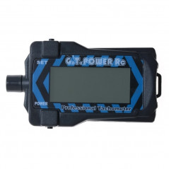 G.T.POWER RC Micro Digital LCD Tachometer for 2-9 Blade R/C Aircraft