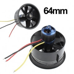 64mm Duct Fan Unit with 4500KV motor for lipo jet RC