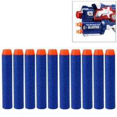 10 PCS 7.2cm EVA Soft Blaster Darts Bullets(Dark Blue)