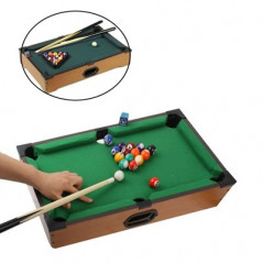 Jeux de billard de table (jaune)