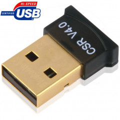 Micro Bluetooth 4.0 USB Adapter(V4.0), Transmission Distance: 30m(Black)