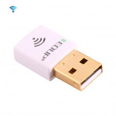 EDUP EP-AC1619 Mini Wireless USB 600Mbps 2.4G / 5.8Ghz 150M+433M Dual Band WiFi Network Card for Nootbook / Laptop / PC(White)