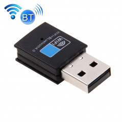 2 in 1 Bluetooth 4.0 + 150Mbps 2.4GHz USB WiFi Wireless Adapter