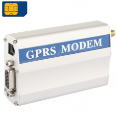 RS232 GPRS Modem / GSM Modem, Support SIM, GSM: 900 / 1800MHz - Design assorti