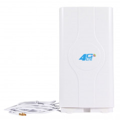 LF-ANT4G01 Indoor 88dBi 4G LTE MIMO Antenna with 2 PCS 2m Connector Wire, TS-9 Port