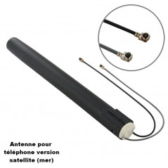 High Quality 6dBi Marine Satellite Mobile Antenna(Black)