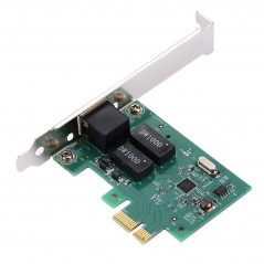 Carte LAN Gigabit Ethernet PCI-E 10/100 / 1000Mhps