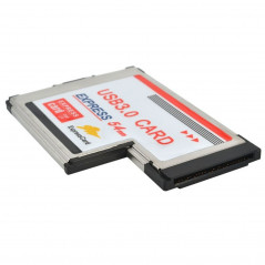 2 Ports USB 3.0 5Gbps PCI 54mm Slot Express Card for Laptop / Notebook