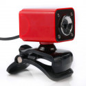 Webcam Pc, 360 Degrés Rotatif 12MP HD USB Fil avec Microphone et 4 LED PC Webcam Camera - 3