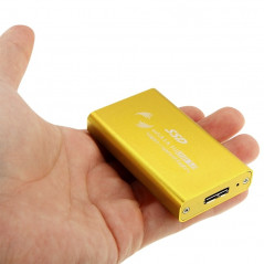 Boitier gold or Adaptateur Disque dur SSD 6gb/s mSATA vers USB 3.0
