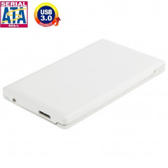 High Speed 2.5 inch HDD SATA & IDE External Case, Support USB 3.0(White)