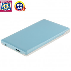 High Speed 2.5 inch HDD SATA & IDE External Case, Support USB 3.0(Blue)