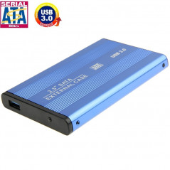 High Speed 2.5 inch HDD SATA External Case, Support USB 3.0(Blue)